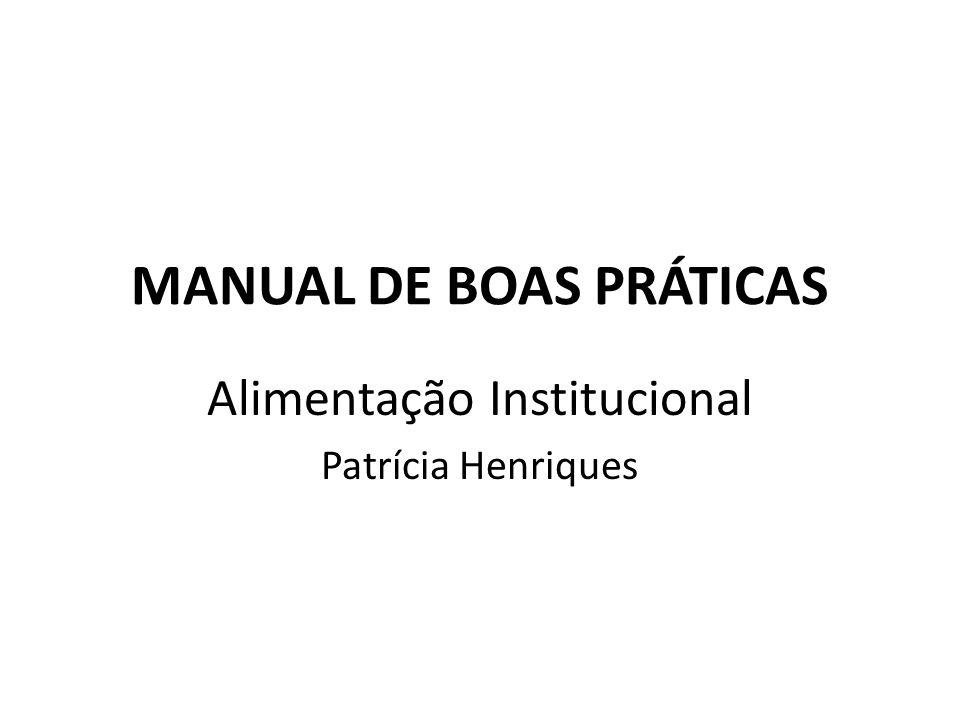 Manual de Boas Práticas 11.