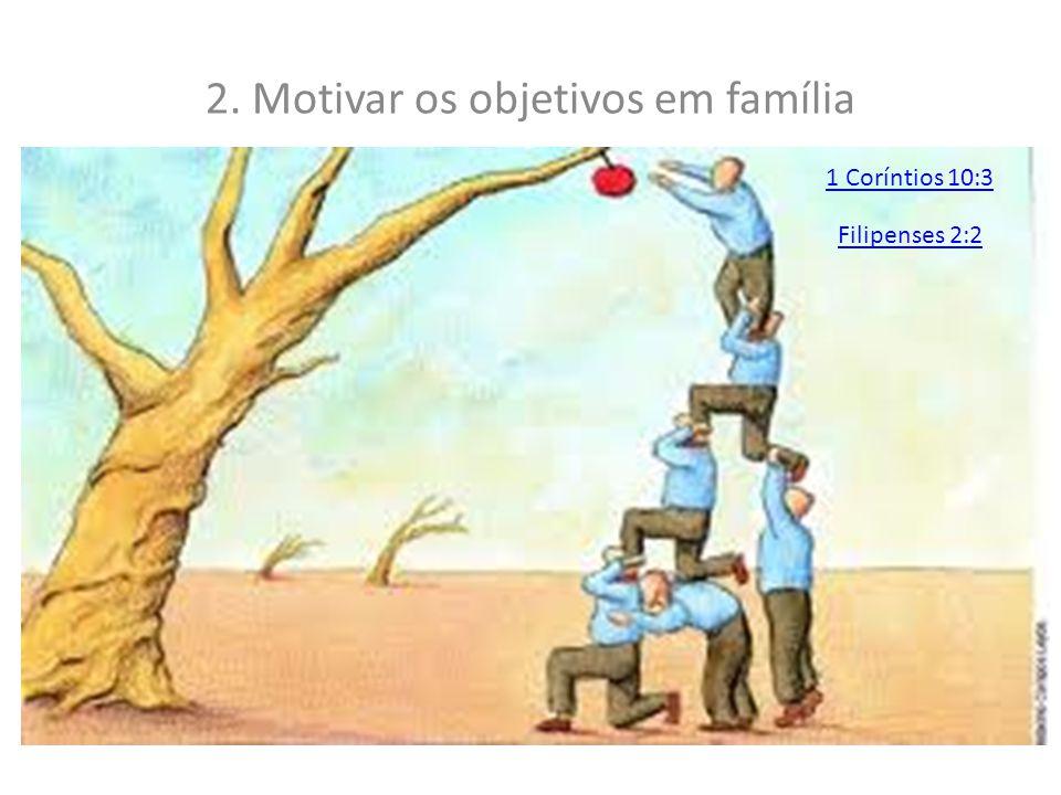 MANEIRA 2. CIVILIZADAS 1. Promover reuniões familiares em culto a Deus Crônicas 13:14
