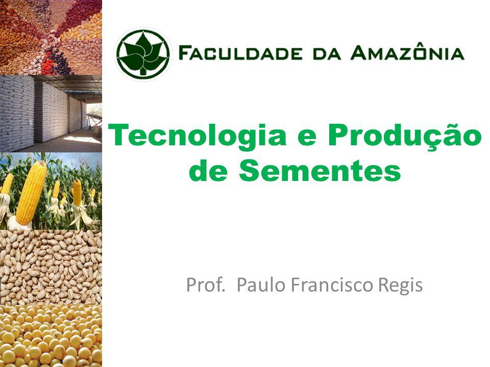 Importância das Sementes Produção agrícola Produção e produtividade brasileira e mundial e taxa brasileira de utilização de sementes selecionadas em cinco culturas de expressão econômica (dados 1974).