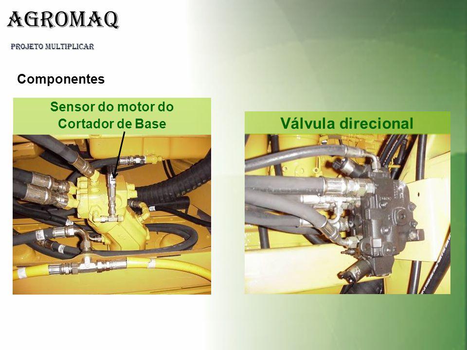 PROJETO MULTIPLICAR AGROMAQ Sensor do motor do Cortador de Base Válvula direcional Componentes
