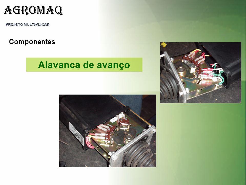 PROJETO MULTIPLICAR AGROMAQ Componentes Alavanca de avanço