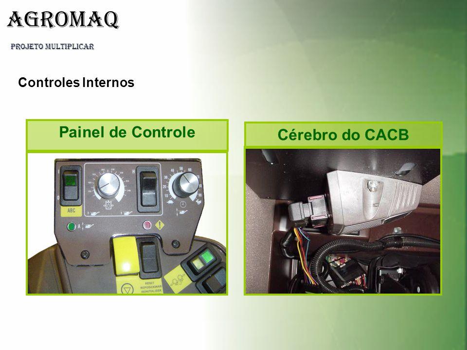 PROJETO MULTIPLICAR AGROMAQ Cérebro do CACB Painel de Controle Controles Internos