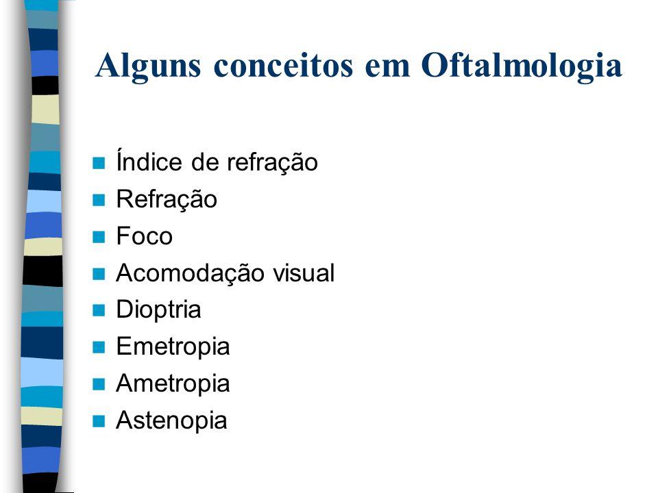 QUANTO AO CAMPO DE VISÃO MONOFOCAIS  As lentes de visão simples são aquelas que se destinam a um só campo de visão.