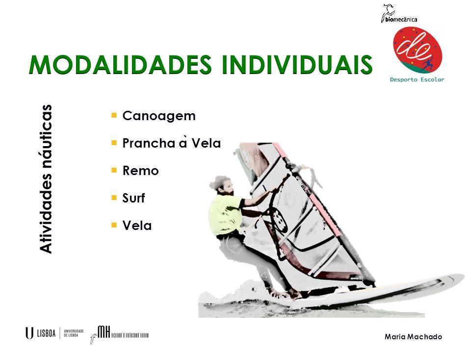 Maria Machado  Canoagem  Prancha a ̀ Vela  Remo  Surf  Vela Atividades náuticas