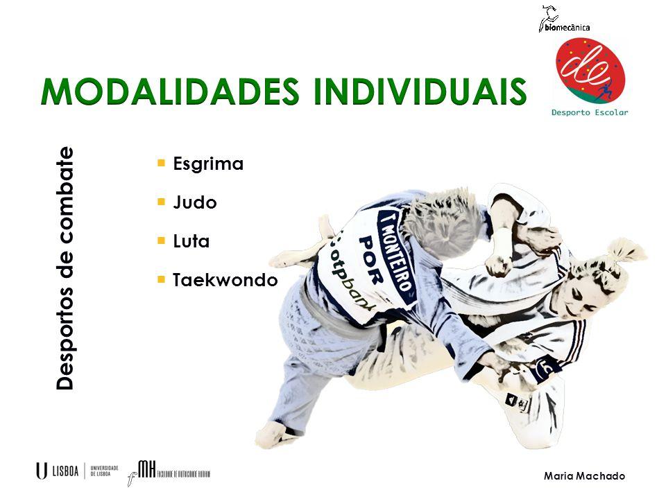 Maria Machado  Esgrima  Judo  Luta  Taekwondo Desportos de combate