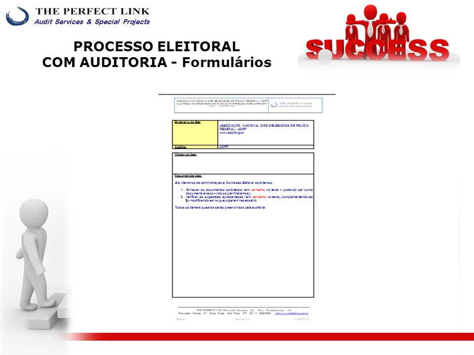 Diretoria - Fernando De Pinho Barreira. CEO da THE PERFECT LINK Auditoria e Perícia Forense.