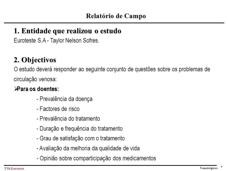 4 Venotrópicos TNS-Euroteste Relatório de Campo 1.