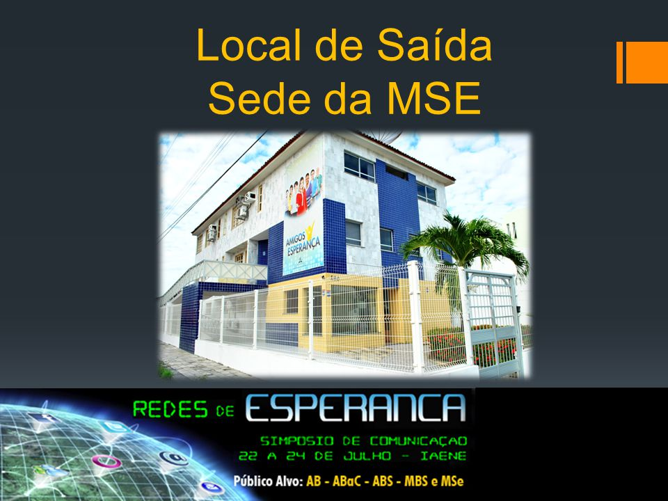 Local: IAENE