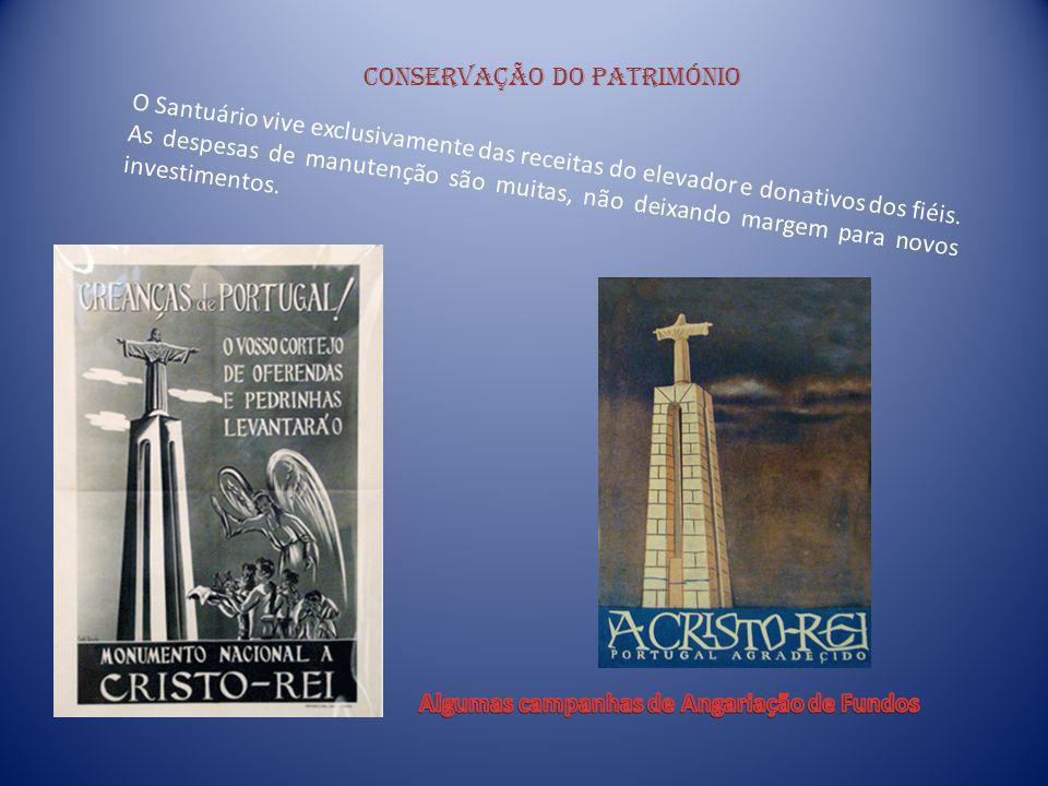Pormenores da construção Na porta principal do monumento, encontramos os Dez Mandamentos, em bronze, da autoria do Arquitecto Sousa Araújo.