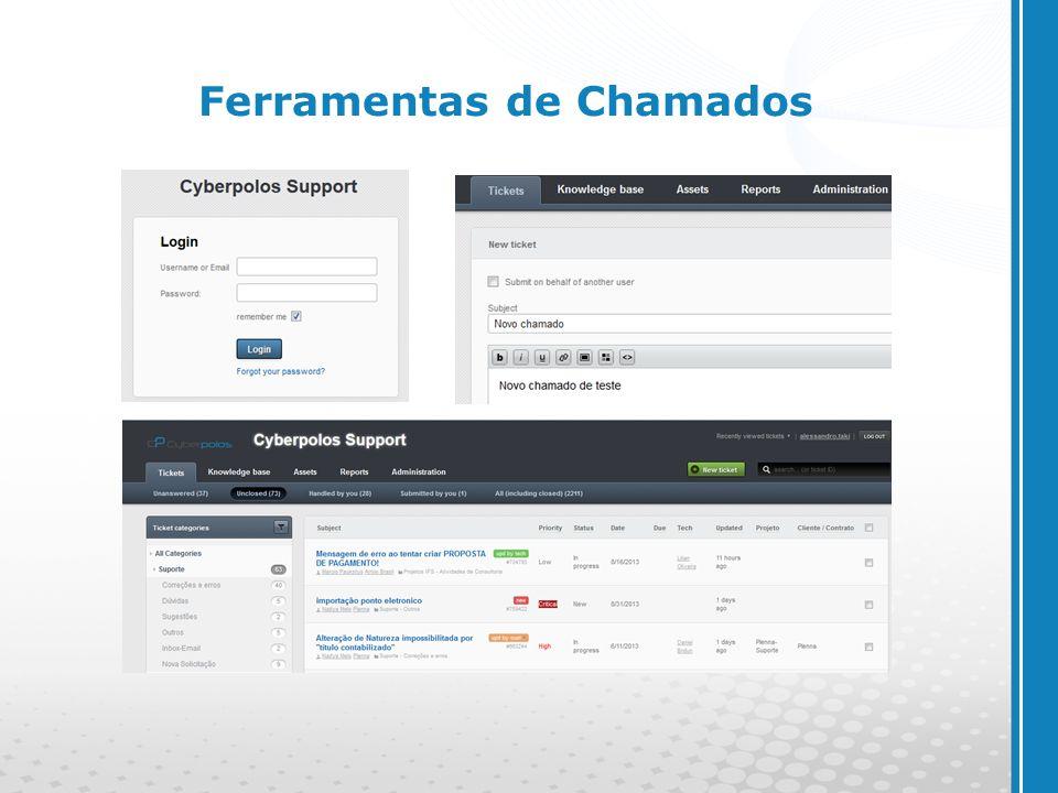 www.cyberpolos.com.br Ferramentas de Chamados