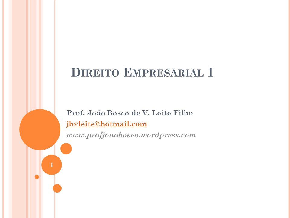 A PRESENTAÇÃO Prof.Esp. João Bosco de V.
