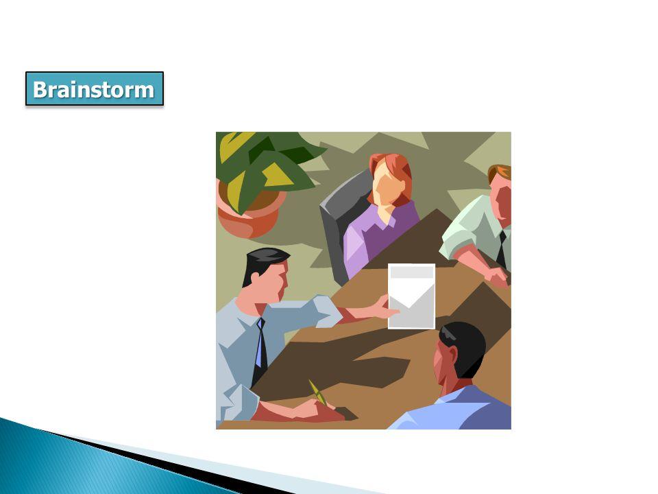 BrainstormBrainstorm