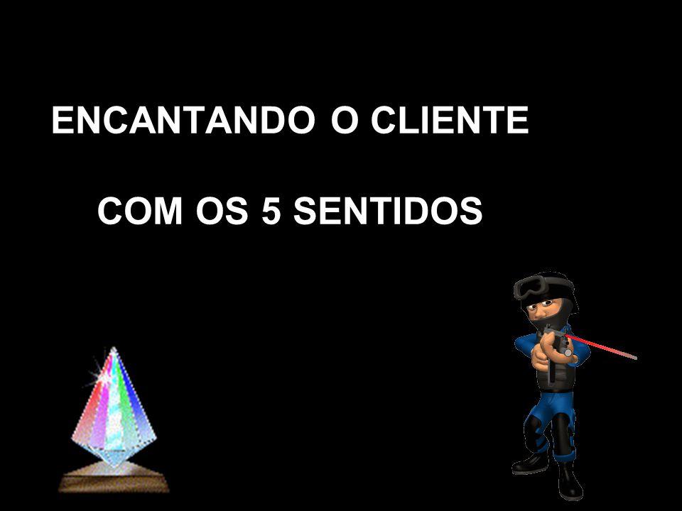 ENCANTANDO O CLIENTE COM OS 5 SENTIDOS