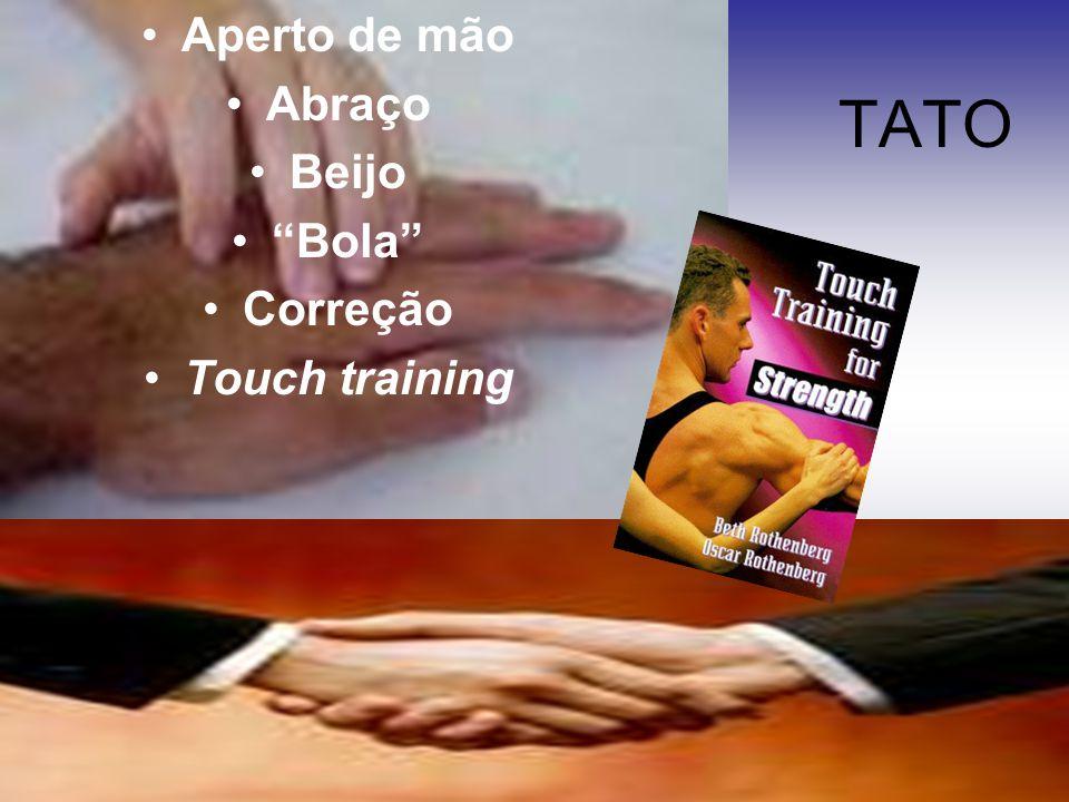 """TATO Aperto de mão Abraço Beijo """"Bola"""" Correção Touch training"""