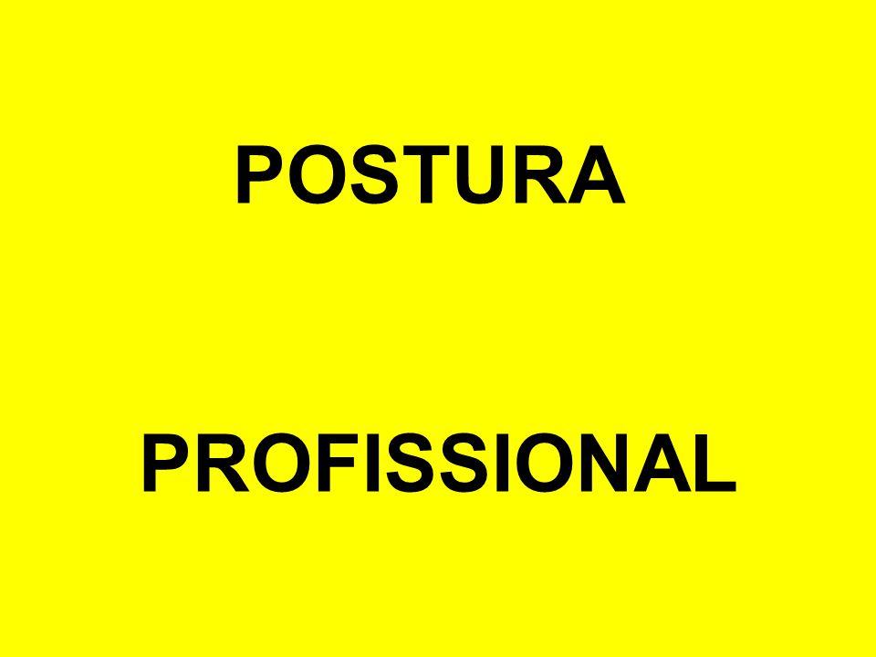 POSTURA PROFISSIONAL