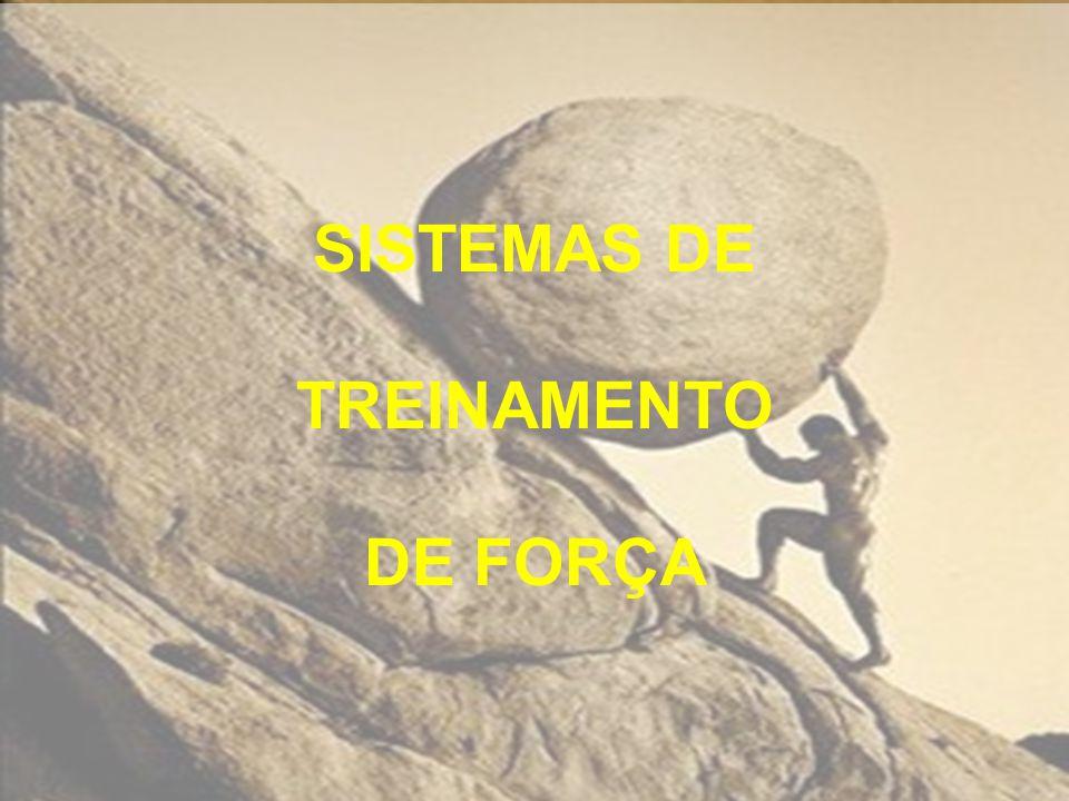 SISTEMAS DE TREINAMENTO DE FORÇA