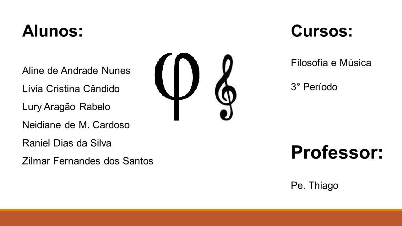 Alunos: Aline de Andrade Nunes Lívia Cristina Cândido Lury Aragão Rabelo Neidiane de M.