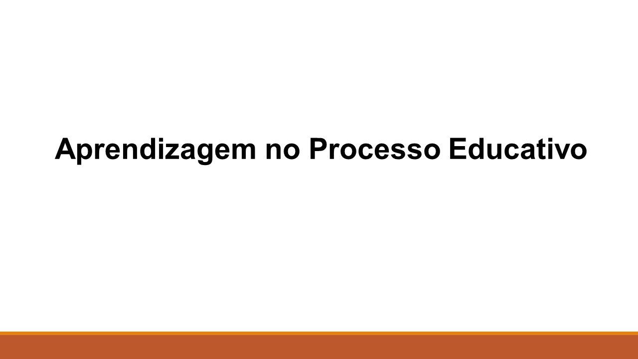 Aprendizagem no Processo Educativo