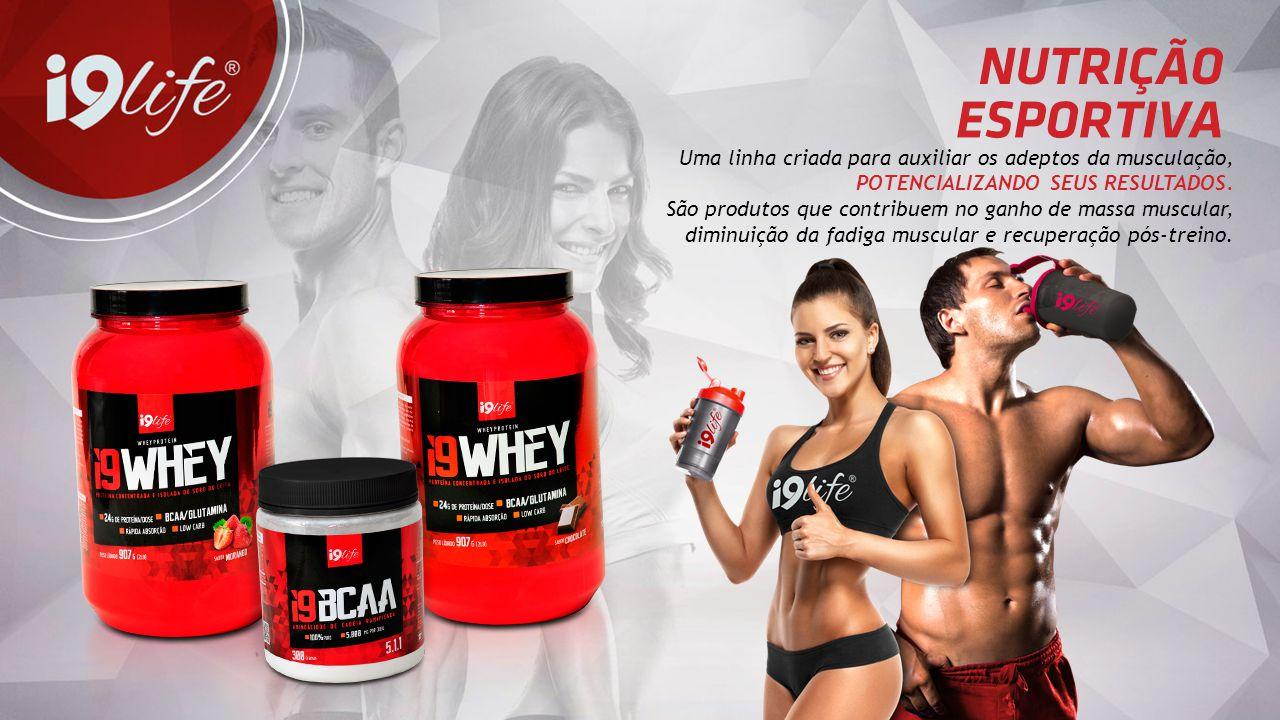 Uma linha criada para auxiliar os adeptos da musculação, POTENCIALIZANDO SEUS RESULTADOS. São produtos que contribuem no ganho de massa muscular, dimi