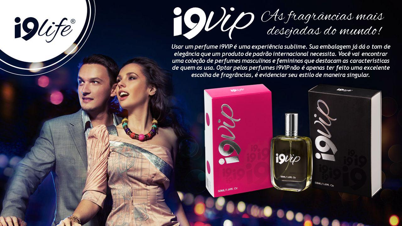 Usar um perfume i9VIP é uma experiência sublime. Sua embalagem já dá o tom de elegância que um produto de padrão internacional necessita. Você vai enc