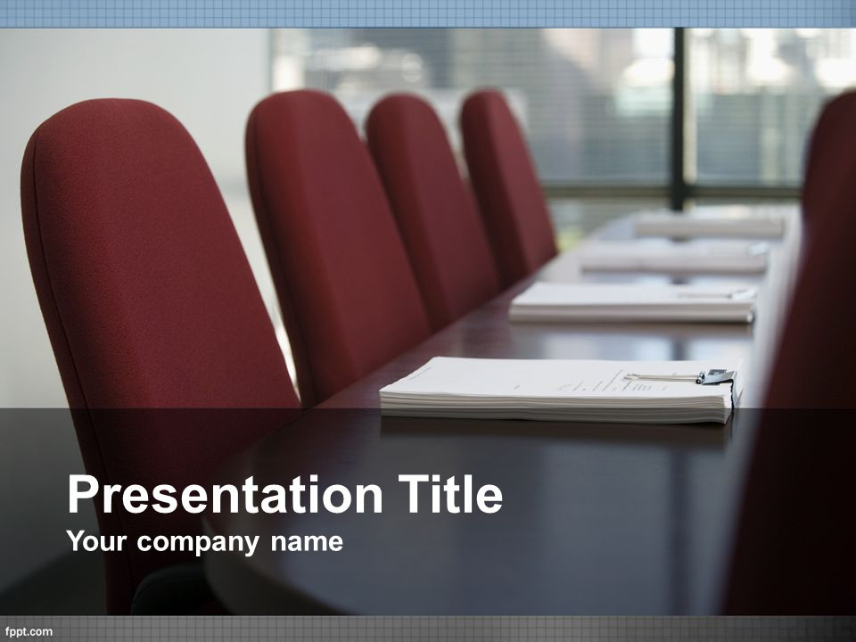 Presentation Title Your company name