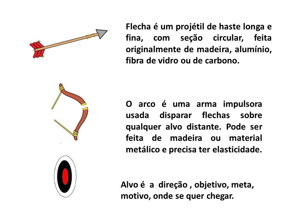 O arco é uma arma impulsora usada disparar flechas sobre qualquer alvo distante. Pode ser feita de madeira ou material metálico e precisa ter elastici
