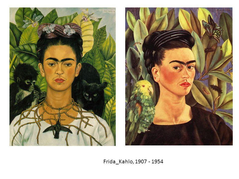 Frida_Kahlo, 1907 - 1954