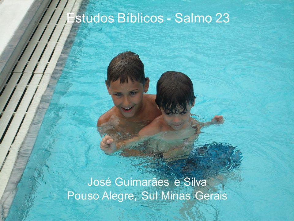 Estudos Bíblicos - Salmo 23 José Guimarães e Silva Pouso Alegre, Sul Minas Gerais
