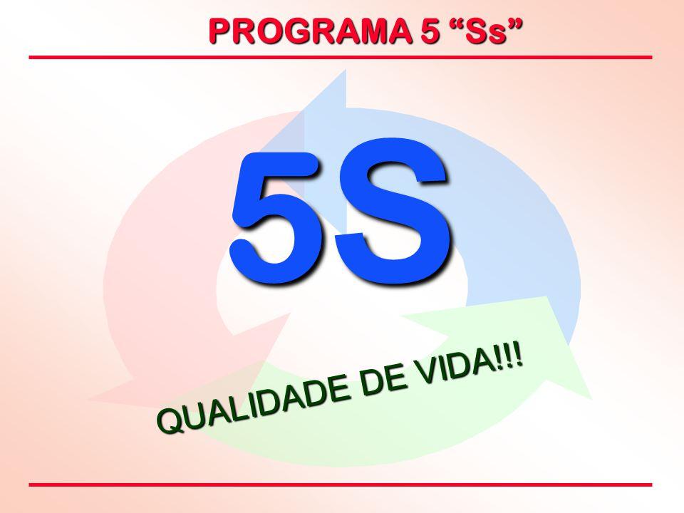 """PROGRAMA 5 """"Ss"""" 5S5S5S5S QUALIDADE DE VIDA!!!"""