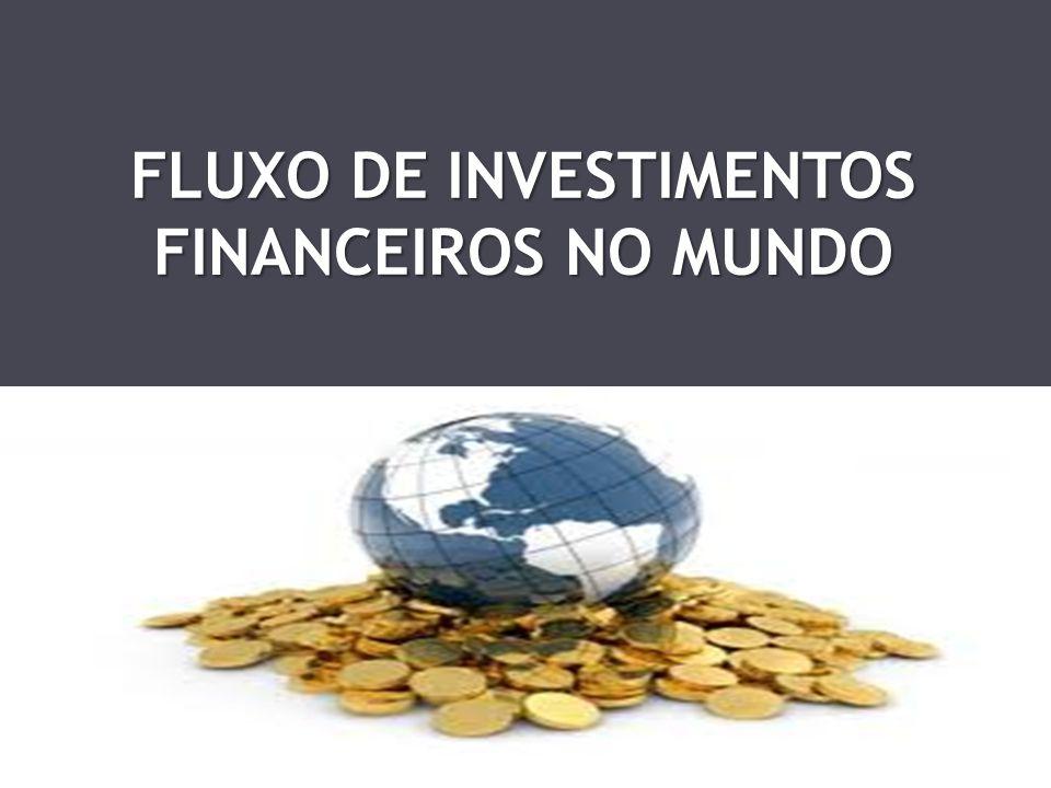 FLUXO DE INVESTIMENTOS FINANCEIROS NO MUNDO