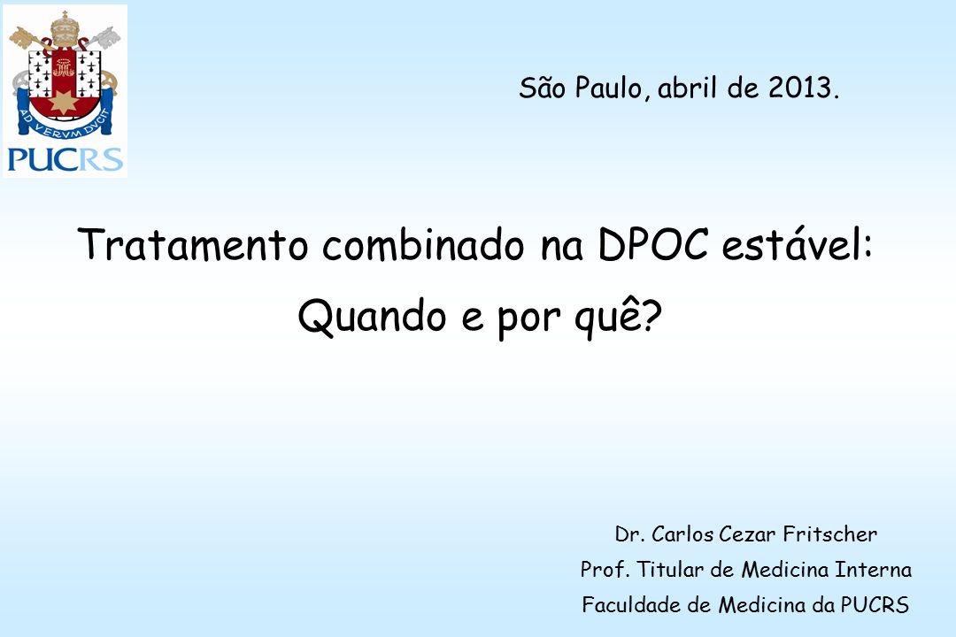 Tratamento combinado na DPOC estável: Quando e por quê.