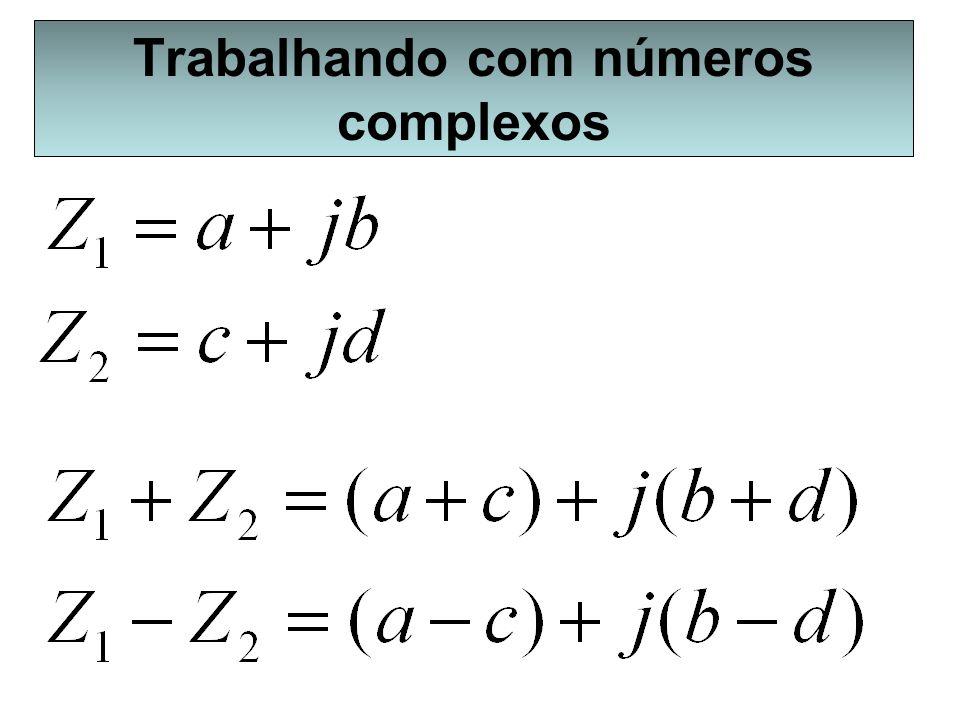 Trabalhando com números complexos