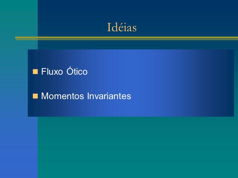 Idéias Fluxo Ótico Momentos Invariantes