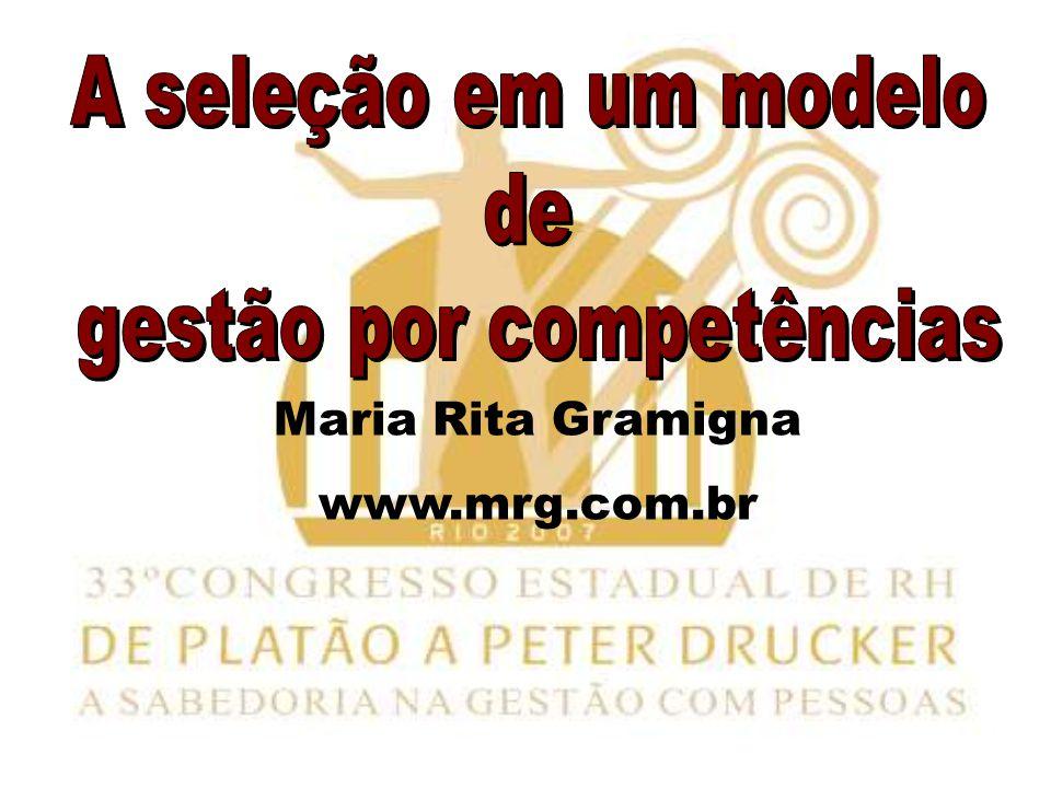 Maria Rita Gramigna www.mrg.com.br