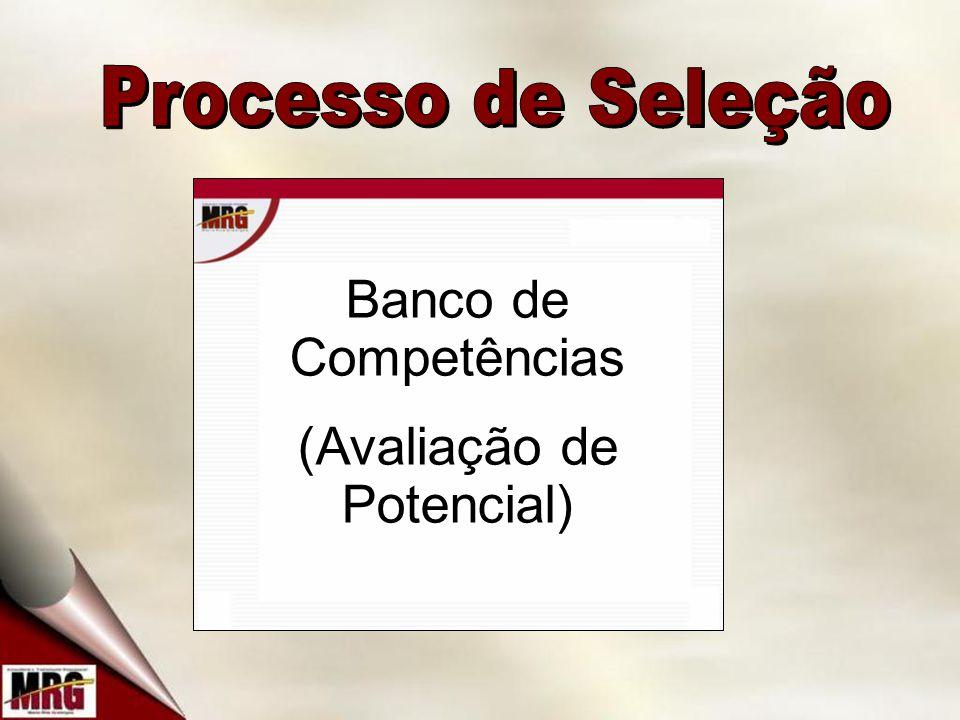 Banco de Competências (Avaliação de Potencial)