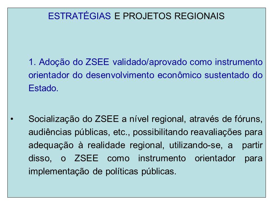 2.Promover o desenvolvimento de indicadores de sustentabilidade.