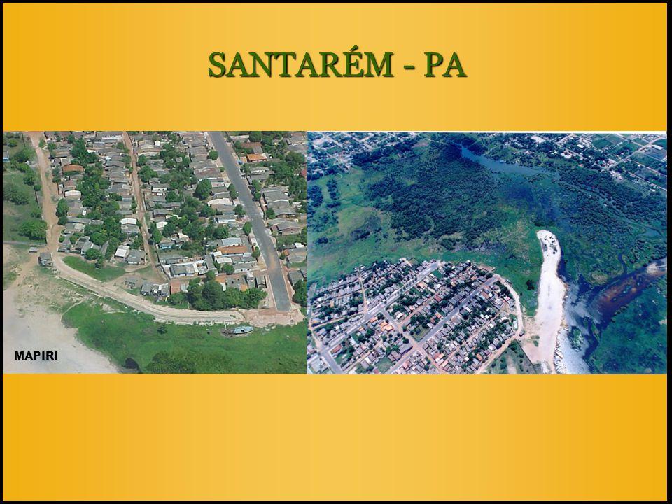 SANTARÉM - PA MAPIRI