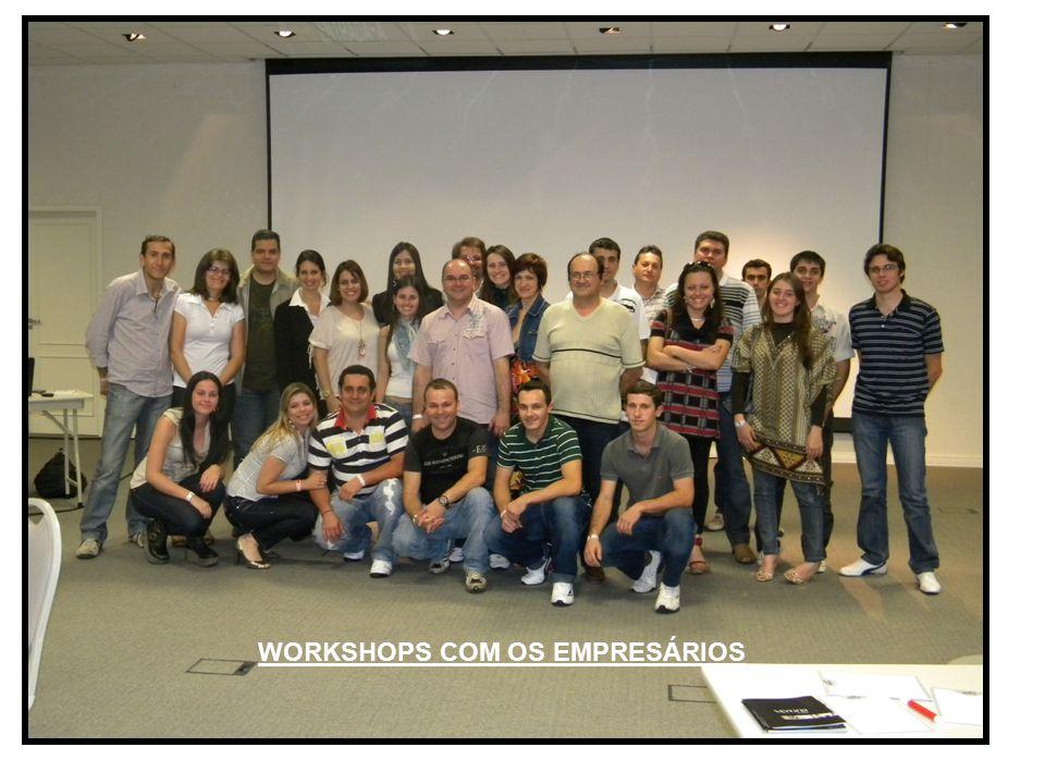WORKSHOPS COM OS EMPRESÁRIOS