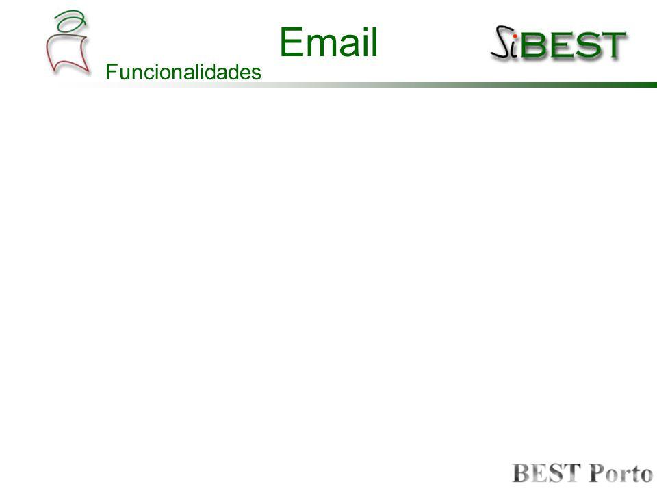 Email Funcionalidades