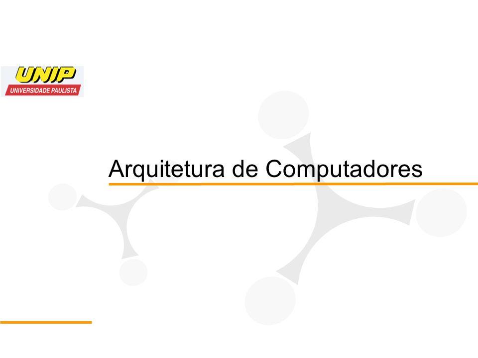 Roteiro 1.Definição e tipos de arquitetura 2.Os cinco componentes clássicos de um computador 3.Como eles interagem de modo coerente 4.O que o futuro nos reserva 5.O mais importante