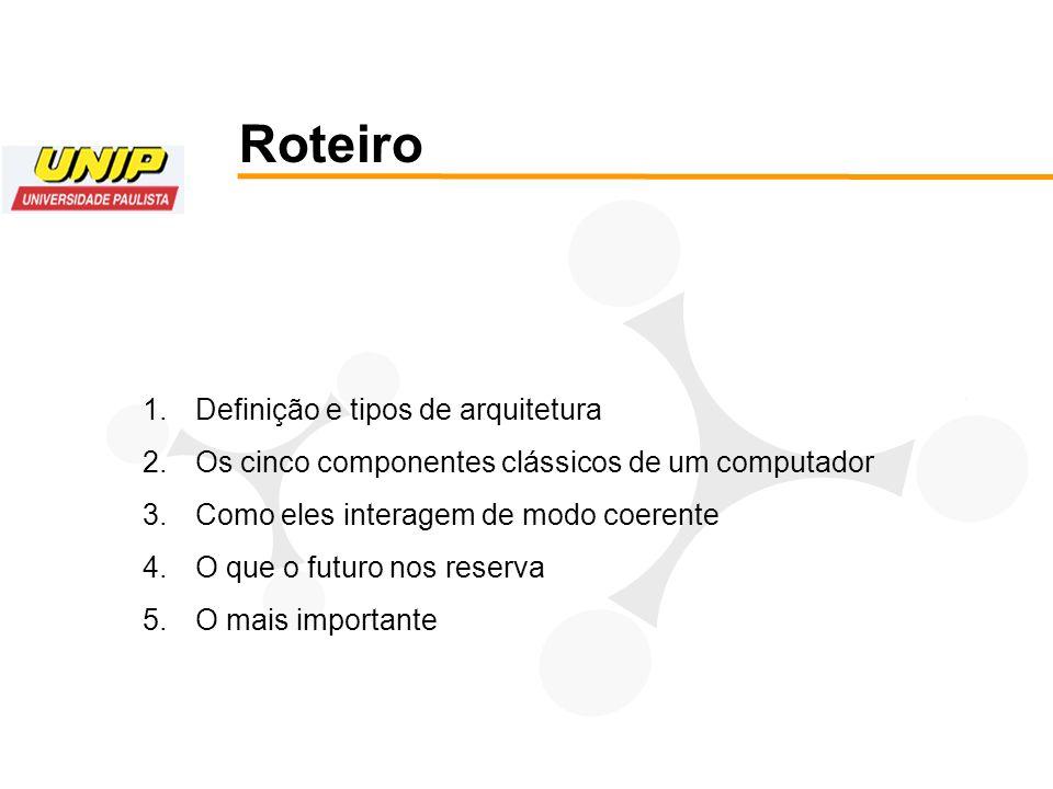 Para finalizar esta seção: Como sincronizar todos os componentes para que esta seqüência seja respeitada.