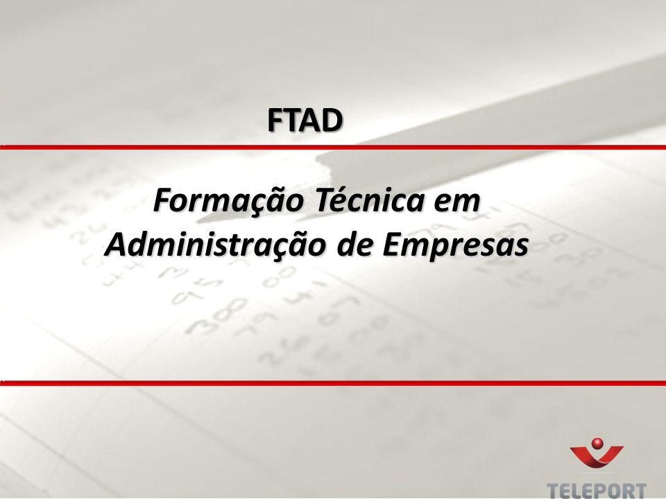 Formação Técnica em Administração de Empresas FTAD