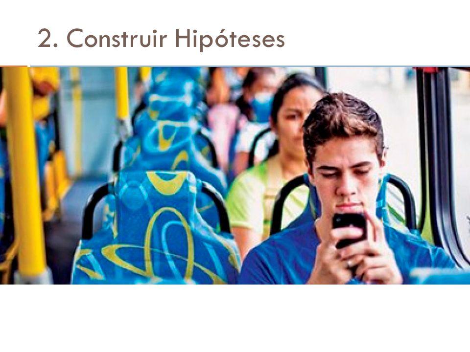 2. Construir Hipóteses