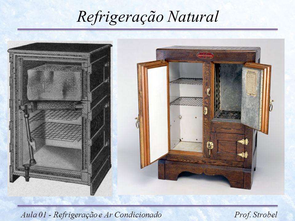 Refrigeração Natural Aula 01 - Refrigeração e Ar Condicionado Prof. Strobel