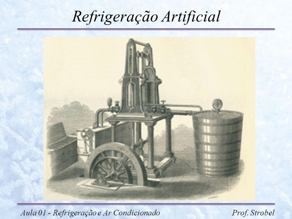 Refrigeração Artificial Aula 01 - Refrigeração e Ar Condicionado Prof. Strobel