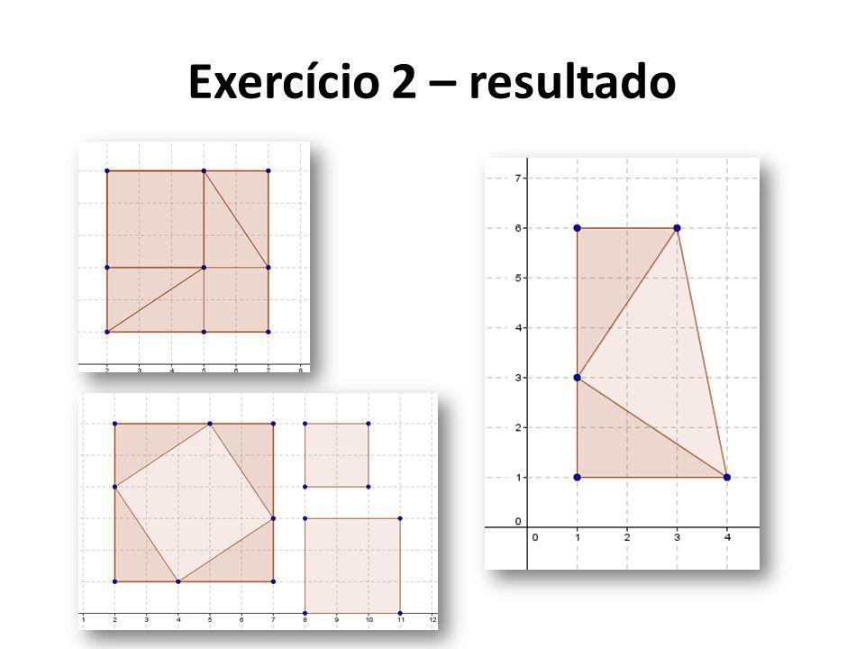 Exercício 2 – resultado