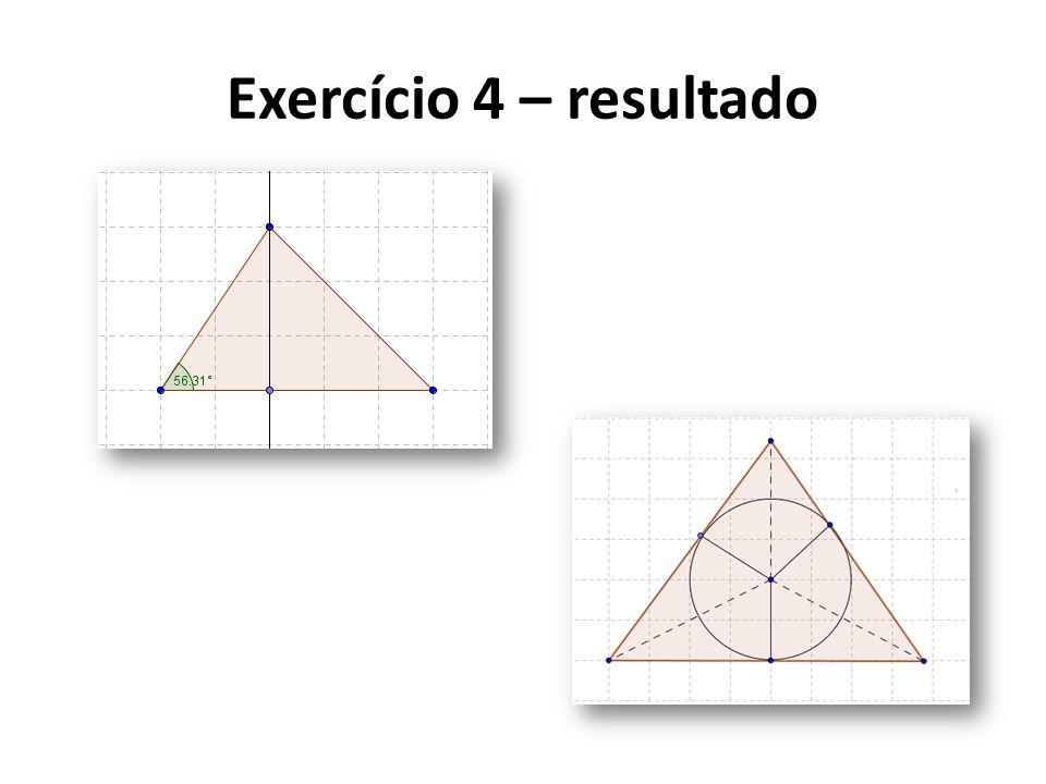 Exercício 4 – resultado
