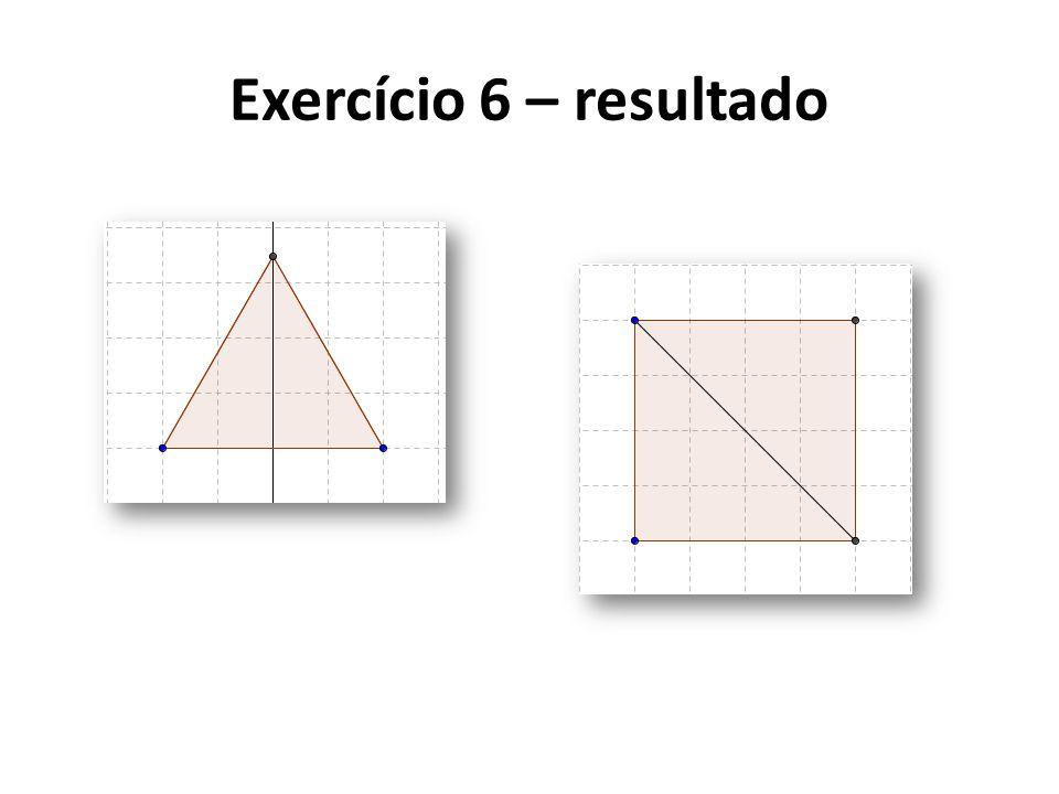 Exercício 6 – resultado