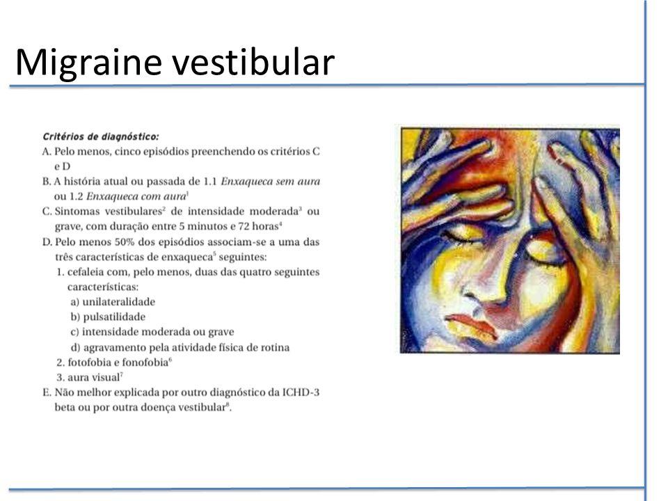 Migraine vestibular