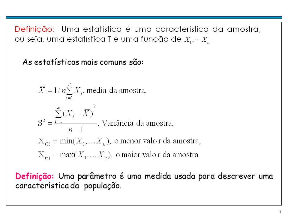 18 Pelo Teorema Central do Limite temos: